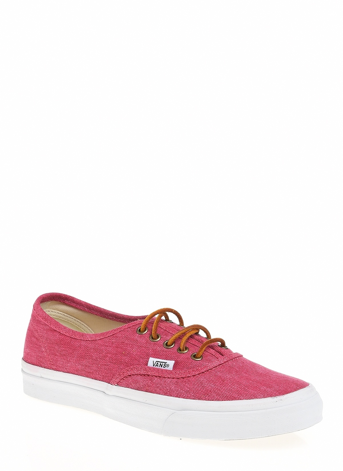 5eb4c51052 Vans Kadın Authentic Slim (Washed Canvas) Persian Red Tr